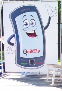quiktip, cell phone guy, anonymous tipping, crime fightiing
